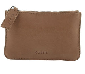 GABEE BAGS VILLAGE COIN PURSE - Taupe