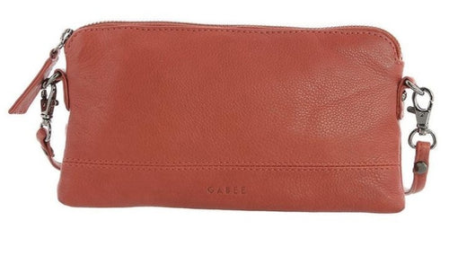 GABEE BAGS LEATHER KARA - Red