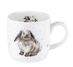 ROYAL WORCESTER WRENDALE MUG - ROSIE RABBIT