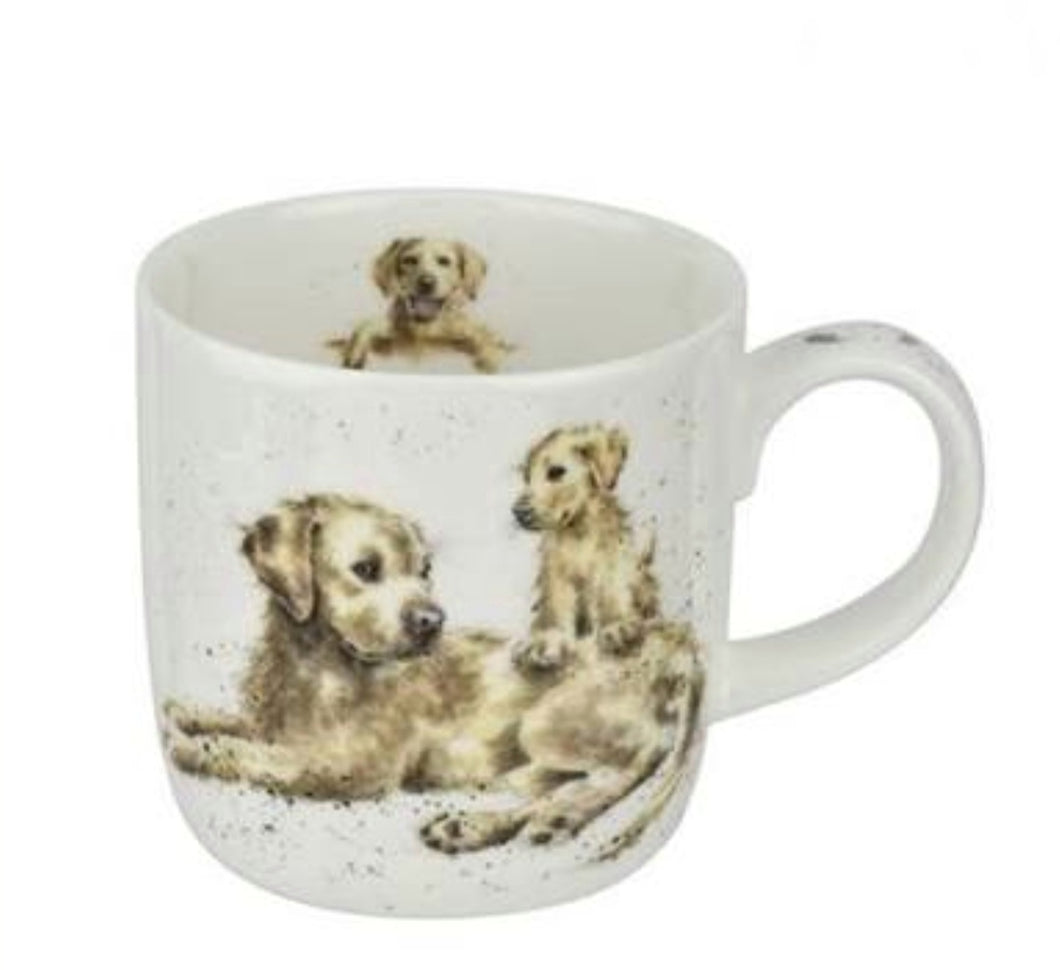 ROYAL WORCESTER WRENDALE MUG - DEVOTION