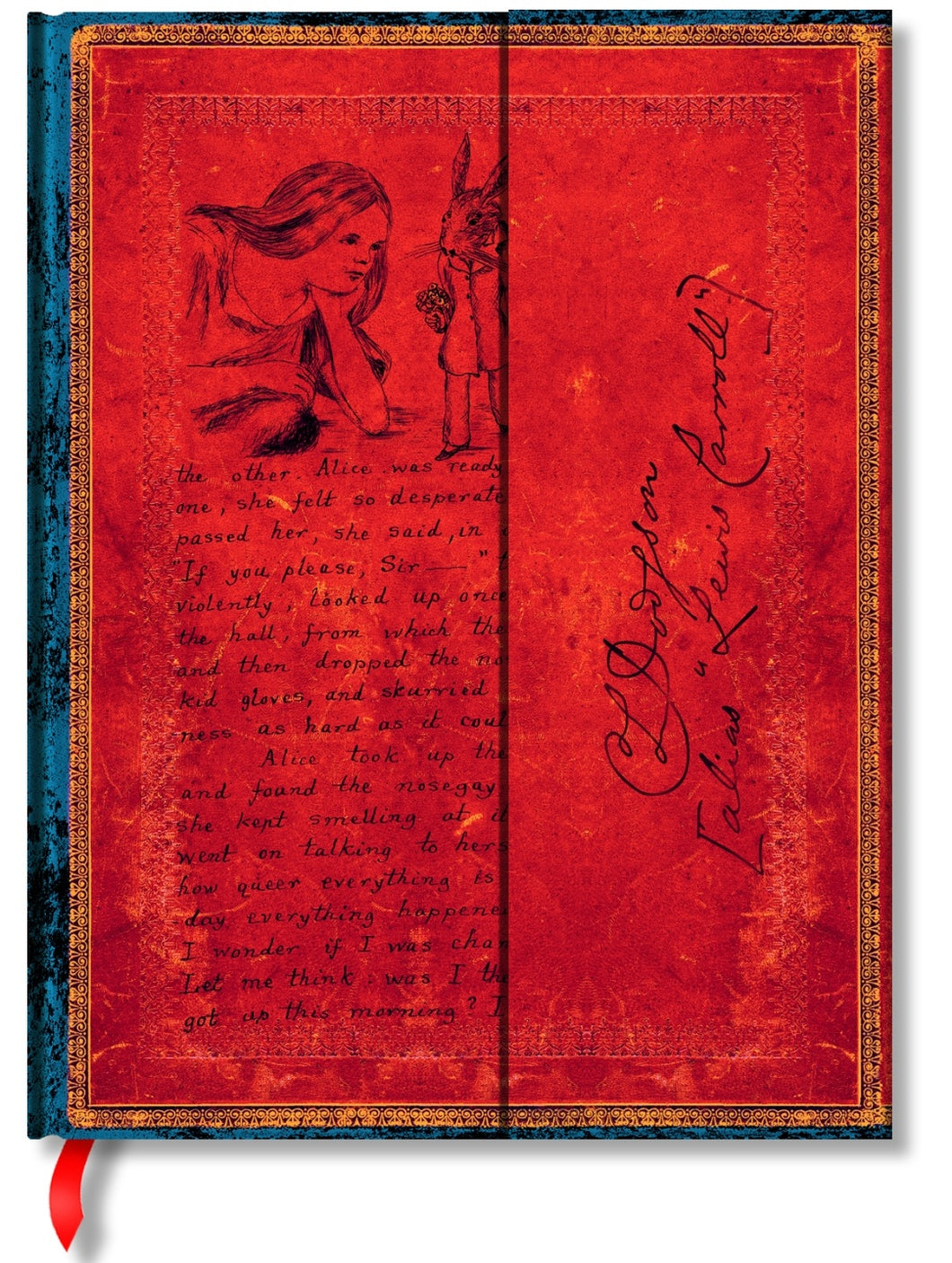 PAPERBLANKS JOURNAL - ALICE IN WONDERLAND - HARDCOVER - ULTRA - LINED