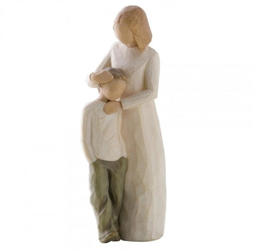 WILLOW TREE FIGURINE - MOTHER AND SON