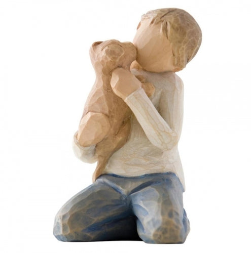 WILLOW TREE FIGURINE - KINDNESS (boy)