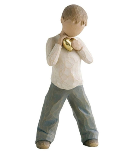 WILLOW TREE FIGURINE - HEART OF GOLD