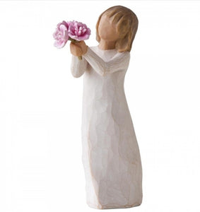 WILLOW TREE FIGURINE - THANK YOU