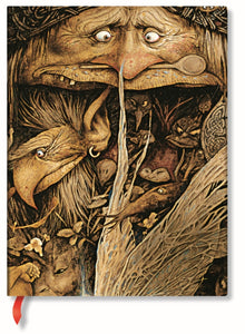 PAPERBLANKS JOURNAL - MISCHIEVOUS CREATURES - ULTRA HARD COVER