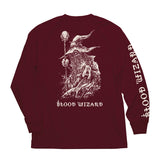 Blood Wizard L/S T shirt