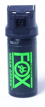 Fox Labs Mean Green Pepper Spray 2oz