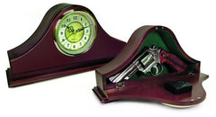 Gun Concealment Mantle Clock