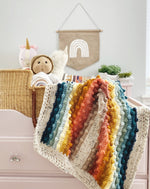 Load image into Gallery viewer, CUSTOM Juni Bobble Rainbow Blanket