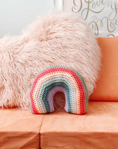 Archie Rainbow Pillow
