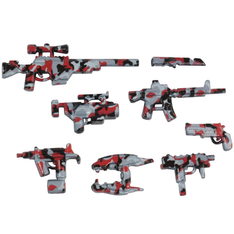 Red Tiger Stripe Weapons Pack