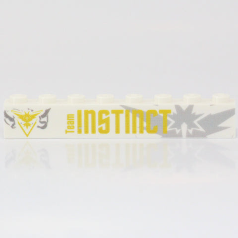 Team Instinct Badge Brick