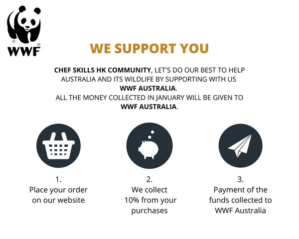 Donation collection procedure CHEF SKILLS HK to WWF Australia