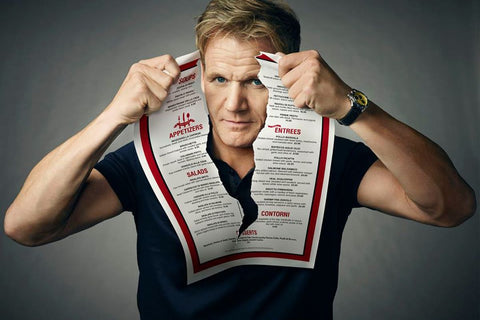 Michelin starred kitchen chef Gordon Ramsay Announces End of Kitchen Nightmares.