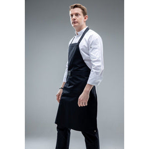 NATICKI Chef BIB Apron with Elastic Belt - Chef Skills Hk