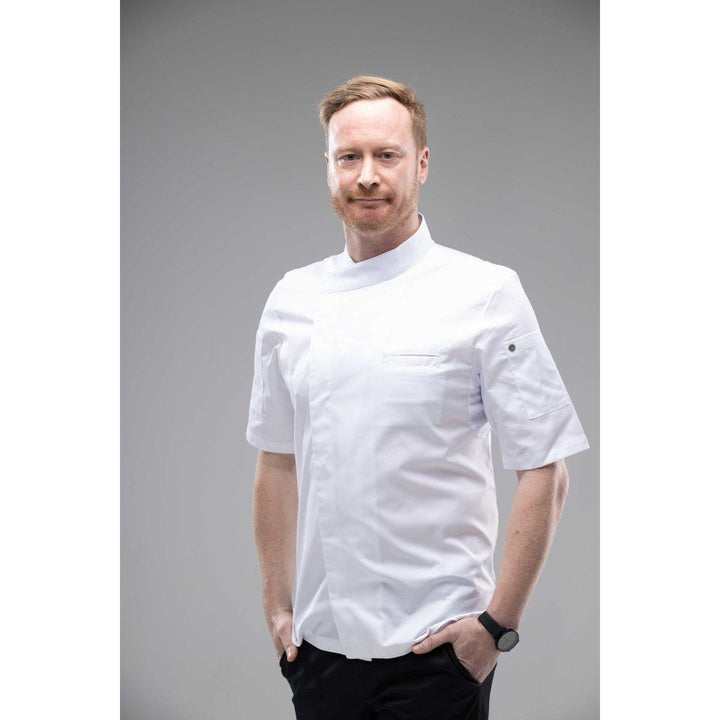Chefskillshk ACOMA Short Sleeves Chef Coat restaurant Hong Kong 82US$
