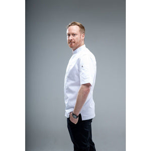 Chef Skills HK Chef coat CAHITA Short Sleeves white for restaurant 27US$