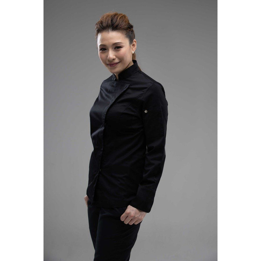 KAHENA Women Premium Chef Coat Long Sleeves - Chef Skills Hk