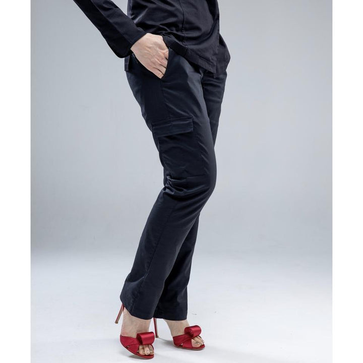 BLACK FEET Premium Slim Fit Chef Pants for Women - Chef Skills Hk