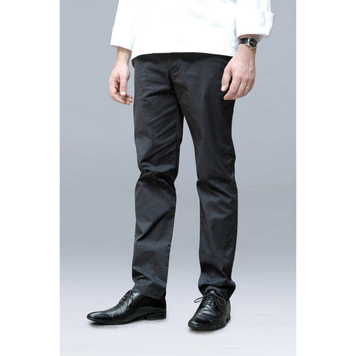 BLACK FEET Premium Slim Fit Chef Pants for Men - Chef Skills Hk