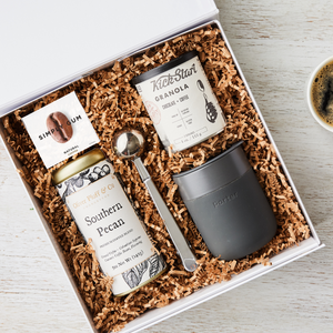 curated_gift_box_breakfast_coffee_granola_insulated_tumbler_scoop_gum