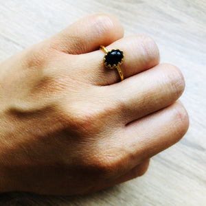 Bague Margaux Onyx Or
