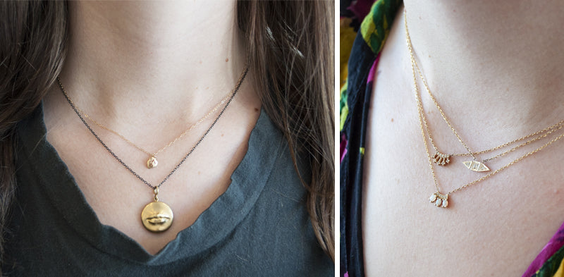 LAYERS OF LOVELY: OUR FAVE NECKLACES