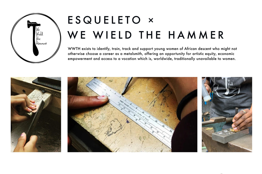 ESQUELETO X We Wield The Hammer