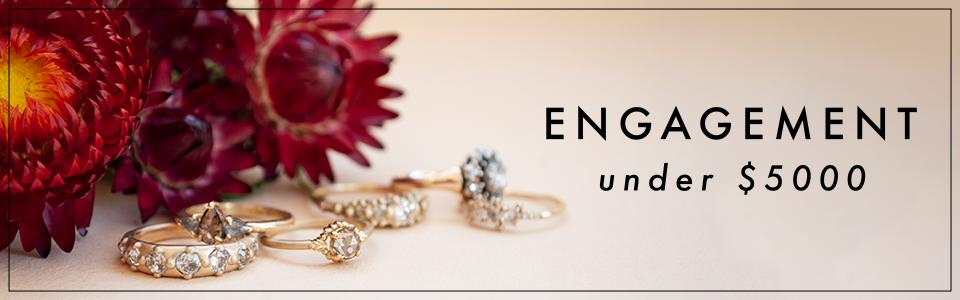 engagement rings under $5000, wedding bands, rings, diamonds, gold, love