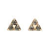 THREE TRIANGLE STUDS