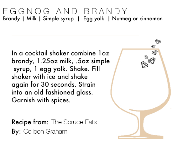 EGGNOG AND BRANDY RECIPE