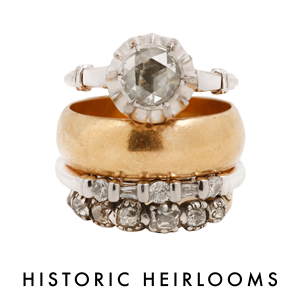 Historic Heirlooms stack of the week