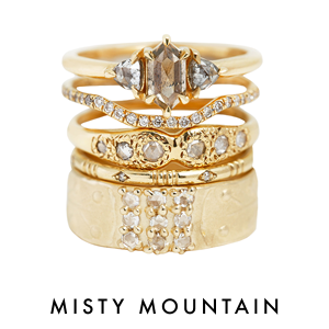 Misty Mountain stack of the week