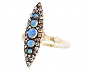 VINTAGE OPAL MARQUISE