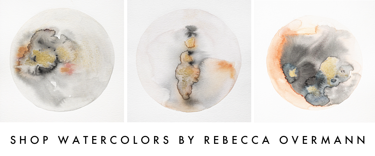 Shop Watercolors by Rebecca Overmann