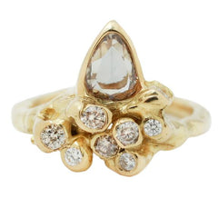 ANEMONE DIAMOND RING