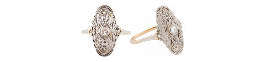 Edwardian Ring at Esqueleto