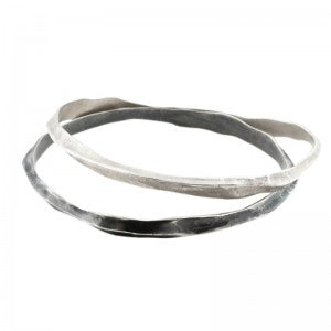 oxidized-silver-spine-bangle