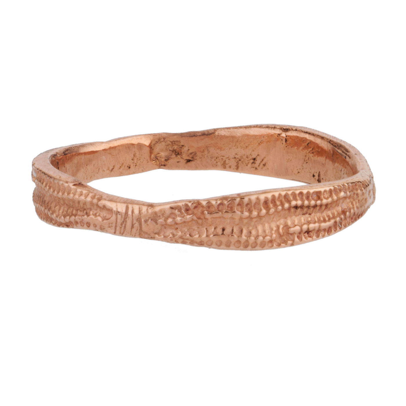 Lauren Wolf Jewelry .- Rose Gold Urchin Band