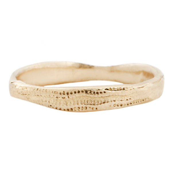 Lauren Wolf Jewelry - Yellow Gold Urchin Band