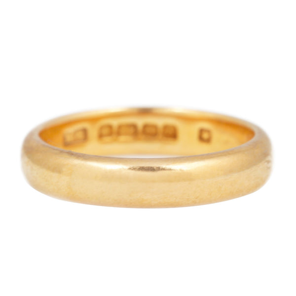 Vintage Narrow Gold Band