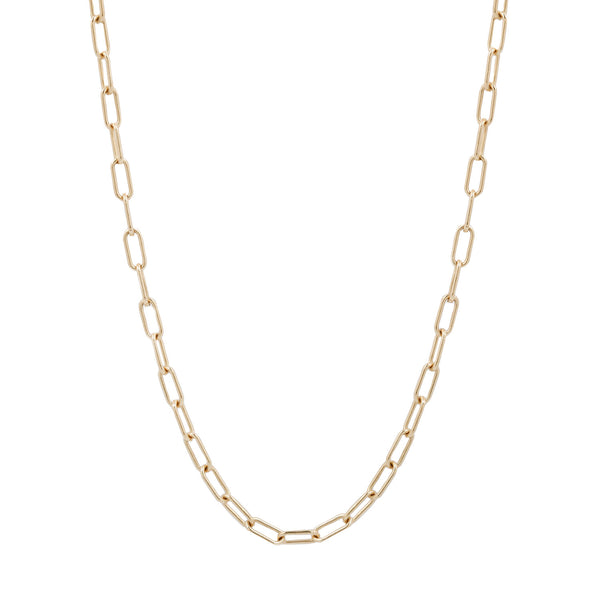 Lauren Wolf Jewelry Elongated Cable Chain