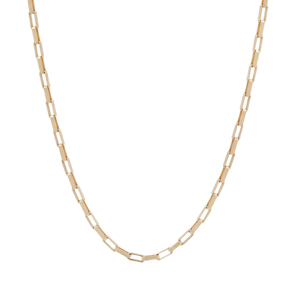 Lauren Wolf Jewelry Square Edge Box Chain
