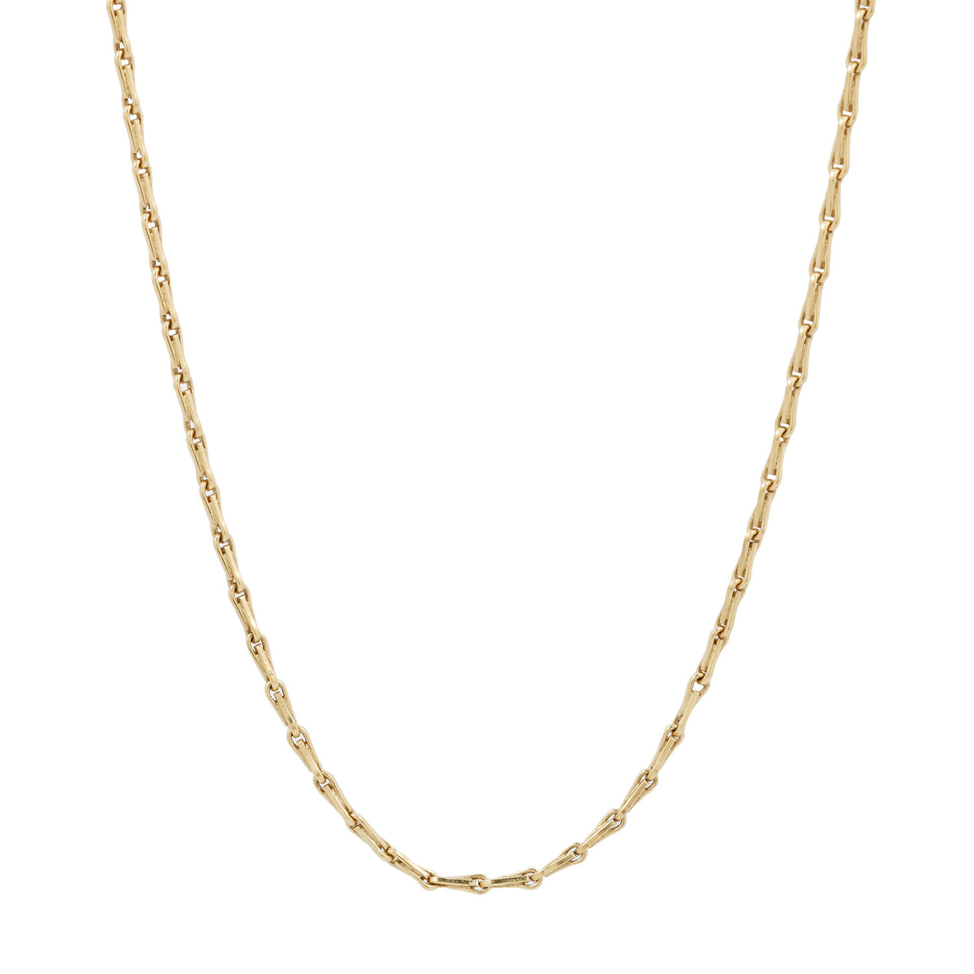 Lauren Wolf Jewelry Gold Barley Corn Chain