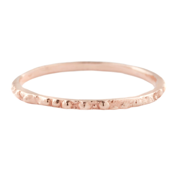 Rose Gold Urchin Stack Ring