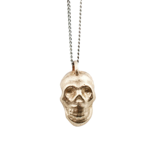 Adeline Diego Gold Skull Necklace