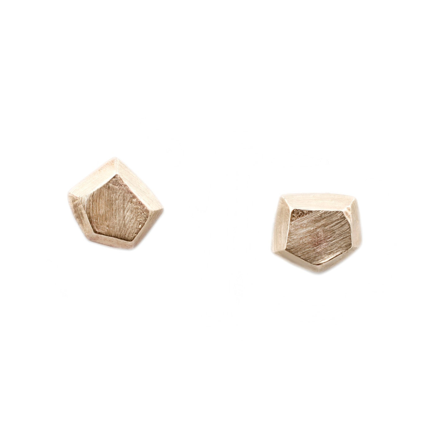 Adeline Gold Geometric Stud Earrings