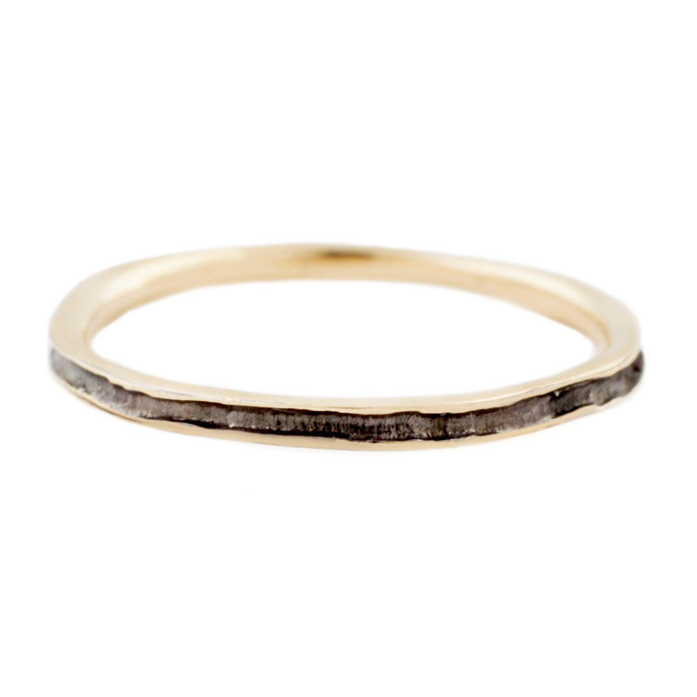 Gold & Black Rhodium Band