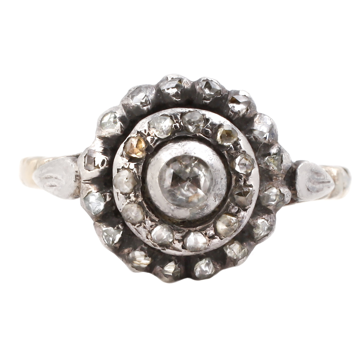 Concentric Circles Diamond Ring